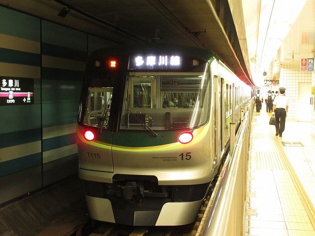 東急7700系(多摩川)