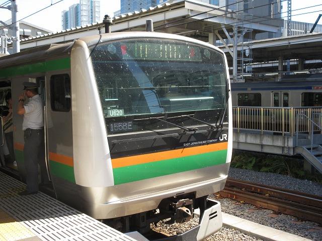 東海道線E233系(品川)