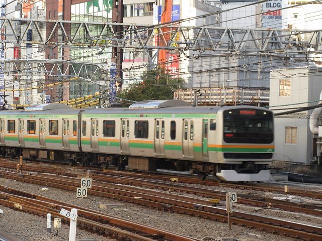 湘南新宿ラインE231系(新宿)