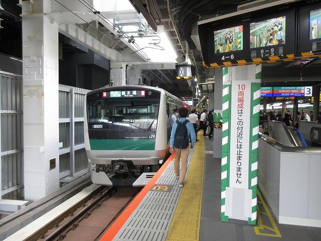E233系埼京線(渋谷)