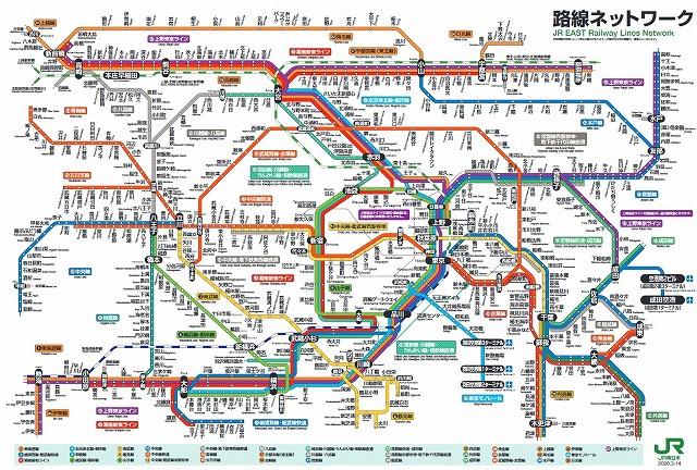 JR東日本路線図