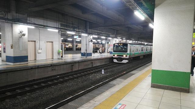 常磐線E231系(北千住)