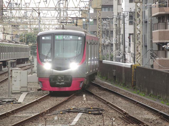 京王5000系急行(笹塚)