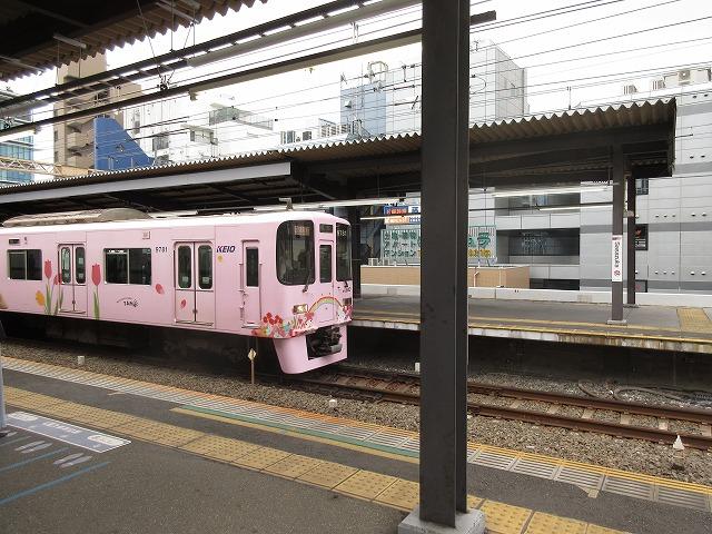 京王9000系ラッピング車(笹塚)
