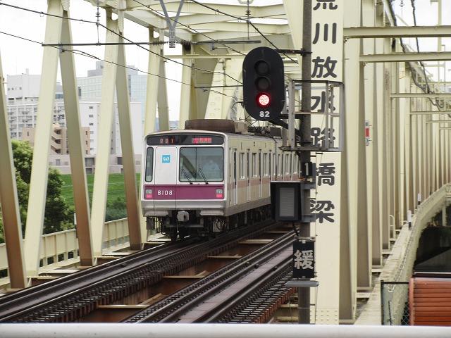 東京メトロ8000系(小菅)