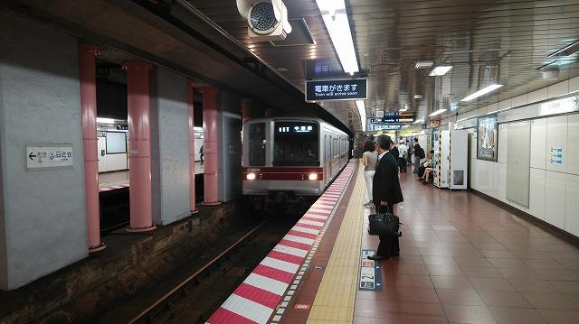 東武20000系(日比谷)