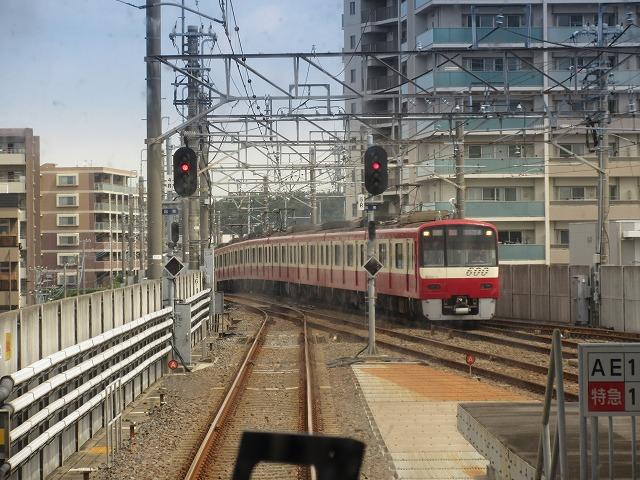 京急600形(新鎌ケ谷)