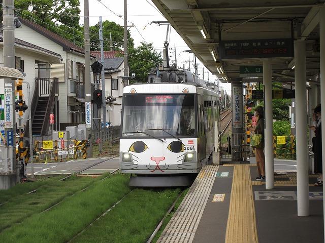 東急300系電車(宮の坂)