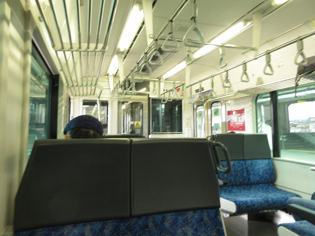 E721系車内(新白河)