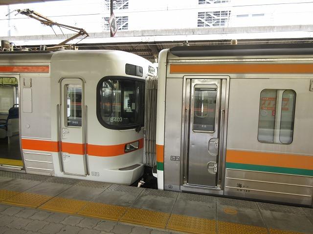 313系+211系(名古屋)