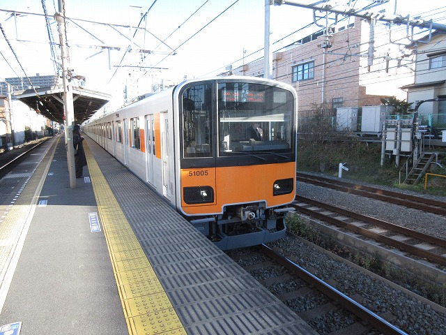 東武50000系(北池袋)