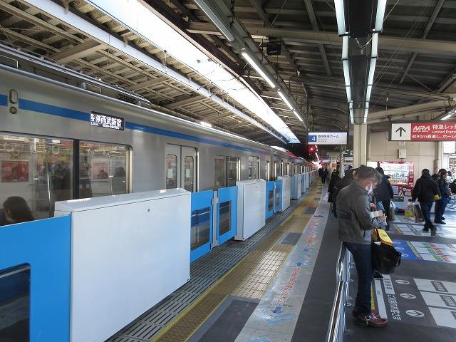 西武20000系(高田馬場)
