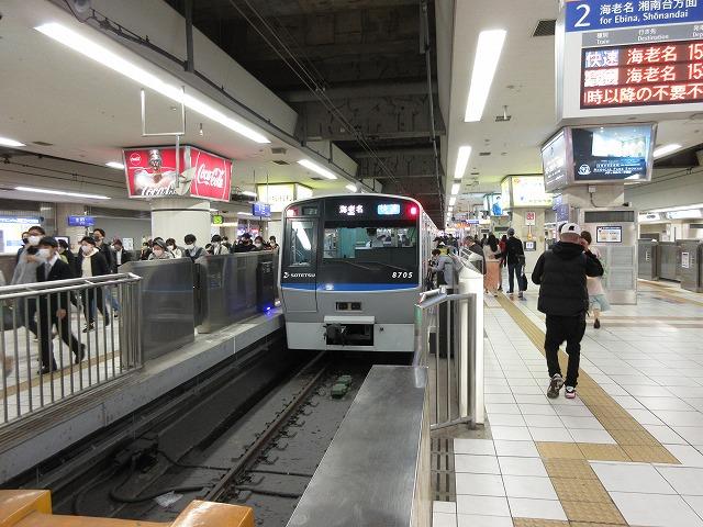相鉄8000系(横浜)